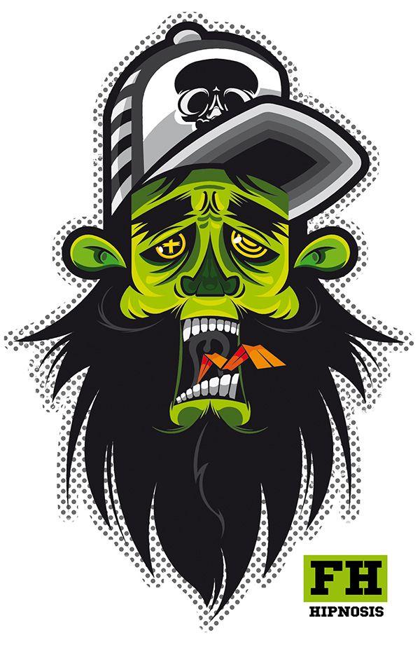 Algunas Creaciones Personales Graffiti Monkey Art Vector Artwork