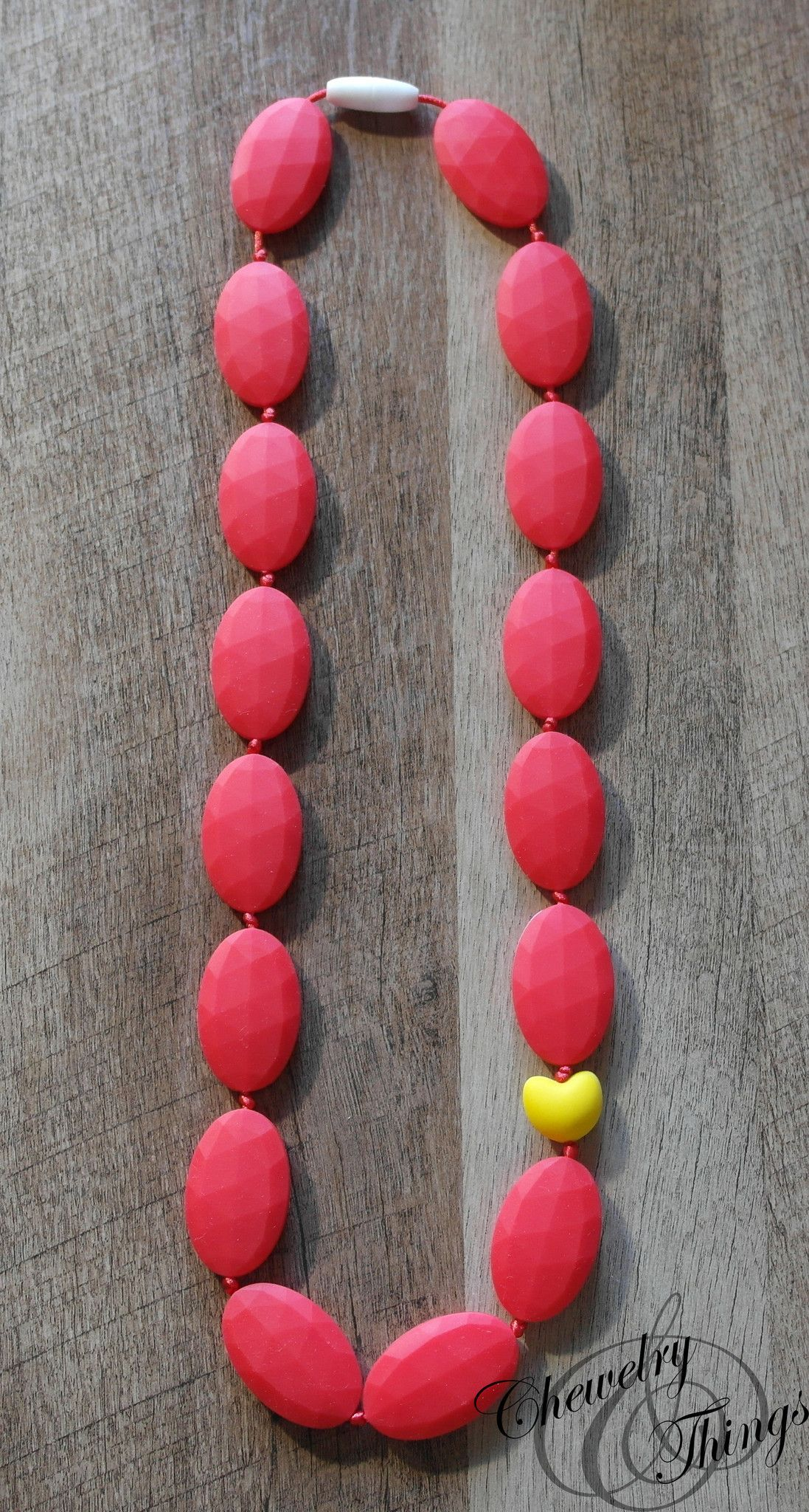 The Red Flats Teething / Nursing Necklace