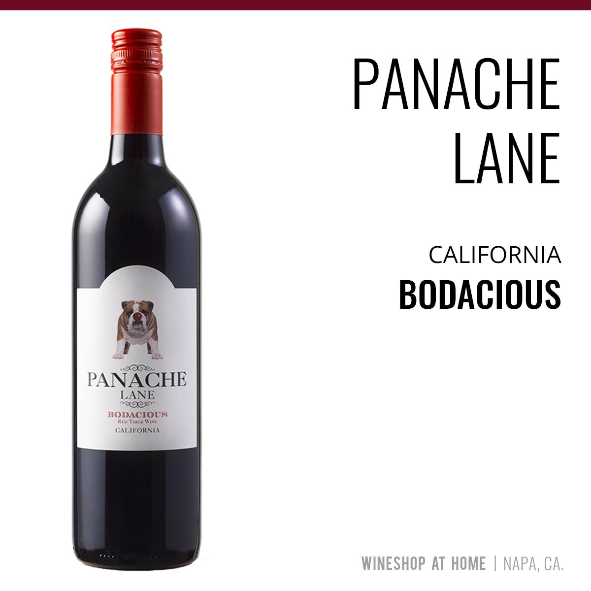 Panache Lane California Bodacious Wineshop At Home Wines Ripe Fruit Red Blend Wine