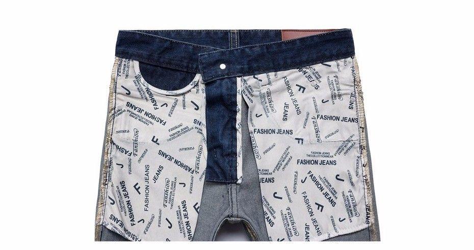 Aliexpress.com: Comprar Envío gratis Jeans de mezclilla mezclilla Skinny Homme Straight bragas ocasionales Slim Fit Pantalones Vaqueros Hombre tamaño 28 46 de pantalones de jean fiable proveedores en JEANSISH