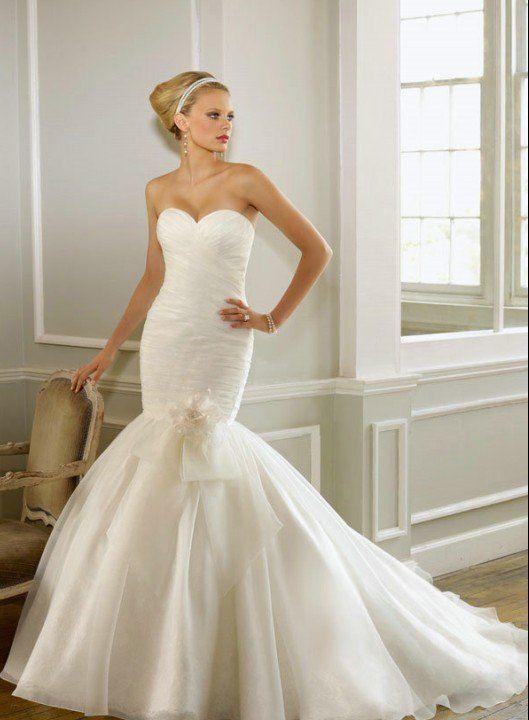 vestidos-de-novia-corte-sirena-capas-de-tul | vestidos de novia in