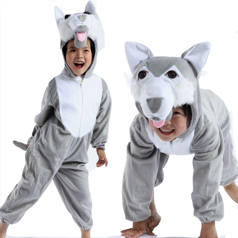 halloween child wolf kids animal kigurumi onesie costume wonderful product with high quality and fast shipment perfect for halloweenparty wear - Wolf Halloween Costume Kids