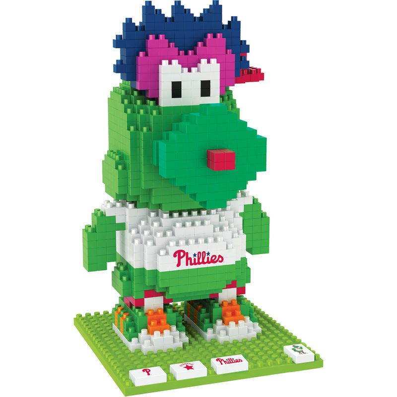Philadelphia Phillies Philly Phanatic Mascot BRXLZ Puzzle ...