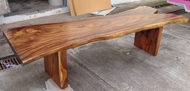 Live Edge Dining Table Reclaimed Solid Slab Acacia Wood 10 Seater Rare And Woods