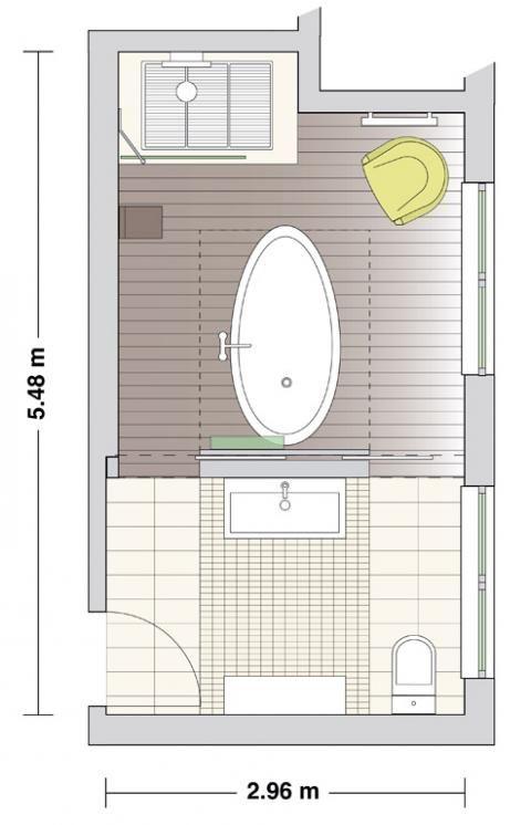 Wellness badezimmer als private spa badezimmer badezimmer bad grundriss und bad - Grundriss badezimmer ...