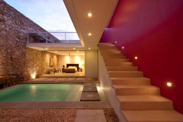 Casa mexicana contemporanea remodelacion arquitectura for Arquitectura mexicana contemporanea