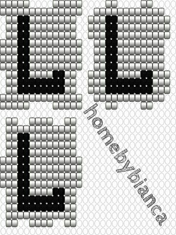 Hama hama beads hamaperler bogstavklodser letter cubes diy free patterns
