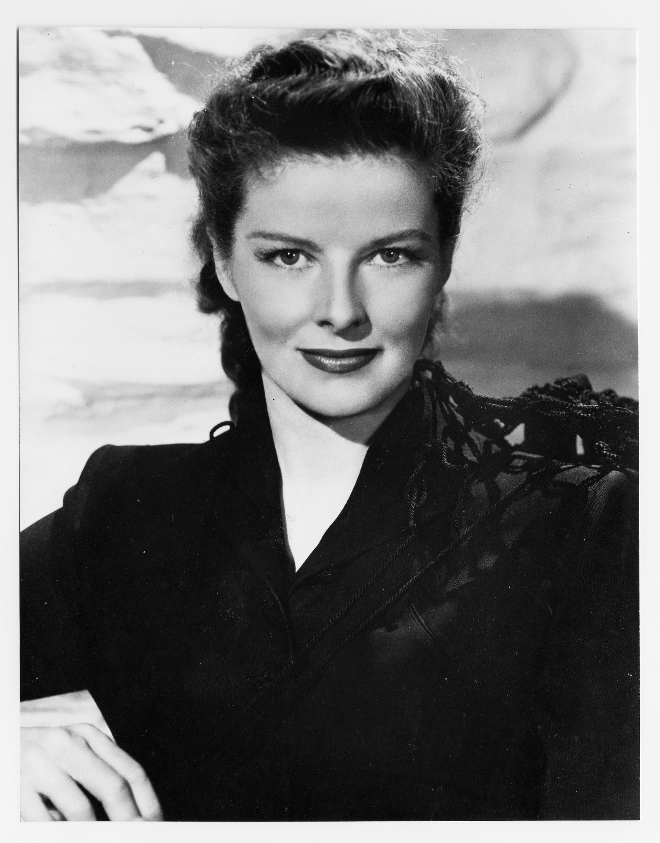 katharine hepburn talking