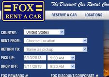 Fox Rent A Car Coupon Huge Discounts Coupons And Promo Codes Rent A Car Car Rental Company Best Car Rental Deals