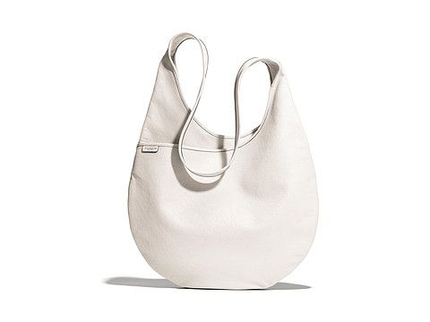 220246cf61 COACH Bleecker Leather Sling Bag Silver Parchment - Zappos.com Free Shipping  BOTH Ways