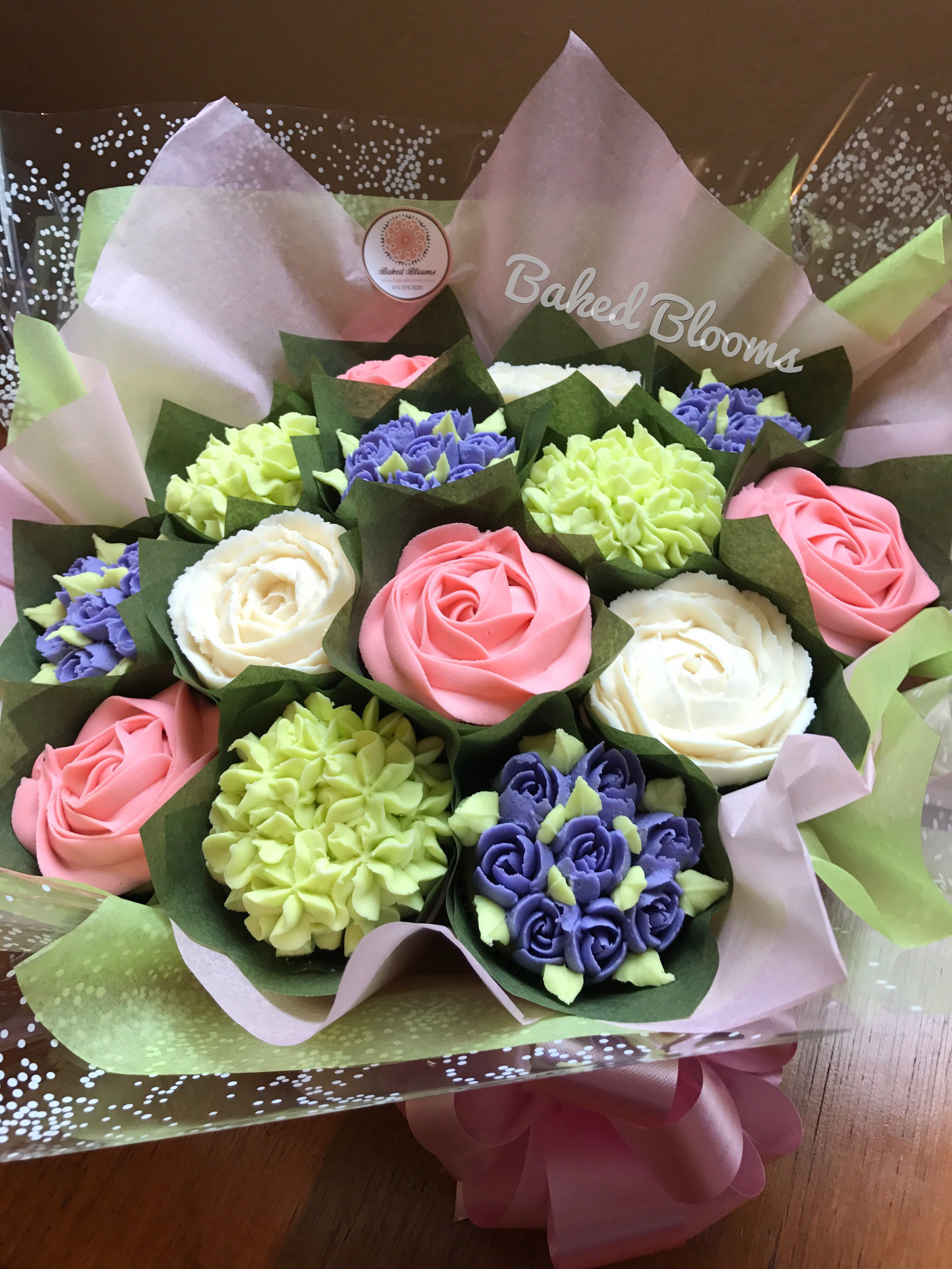 Spring Bouquet Www Bakedblooms Com Baked Blooms