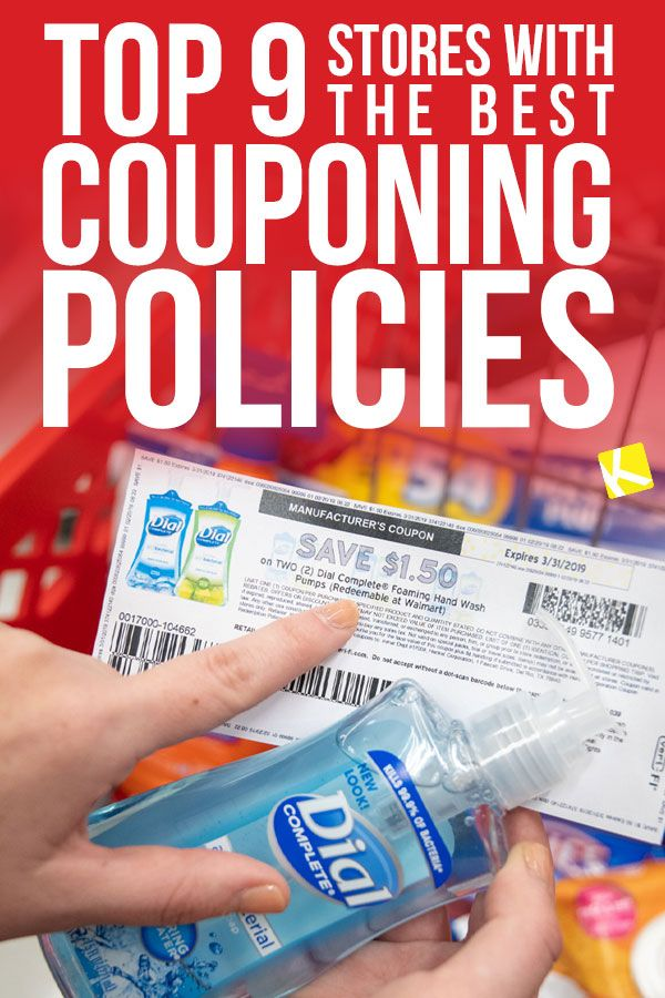 Top 9 Stores with the Best Couponing Policies - What stores are best for beginning couponers? Who has the best overall coupon deals? Well we have answered your questions so that you can get to saving more money!
