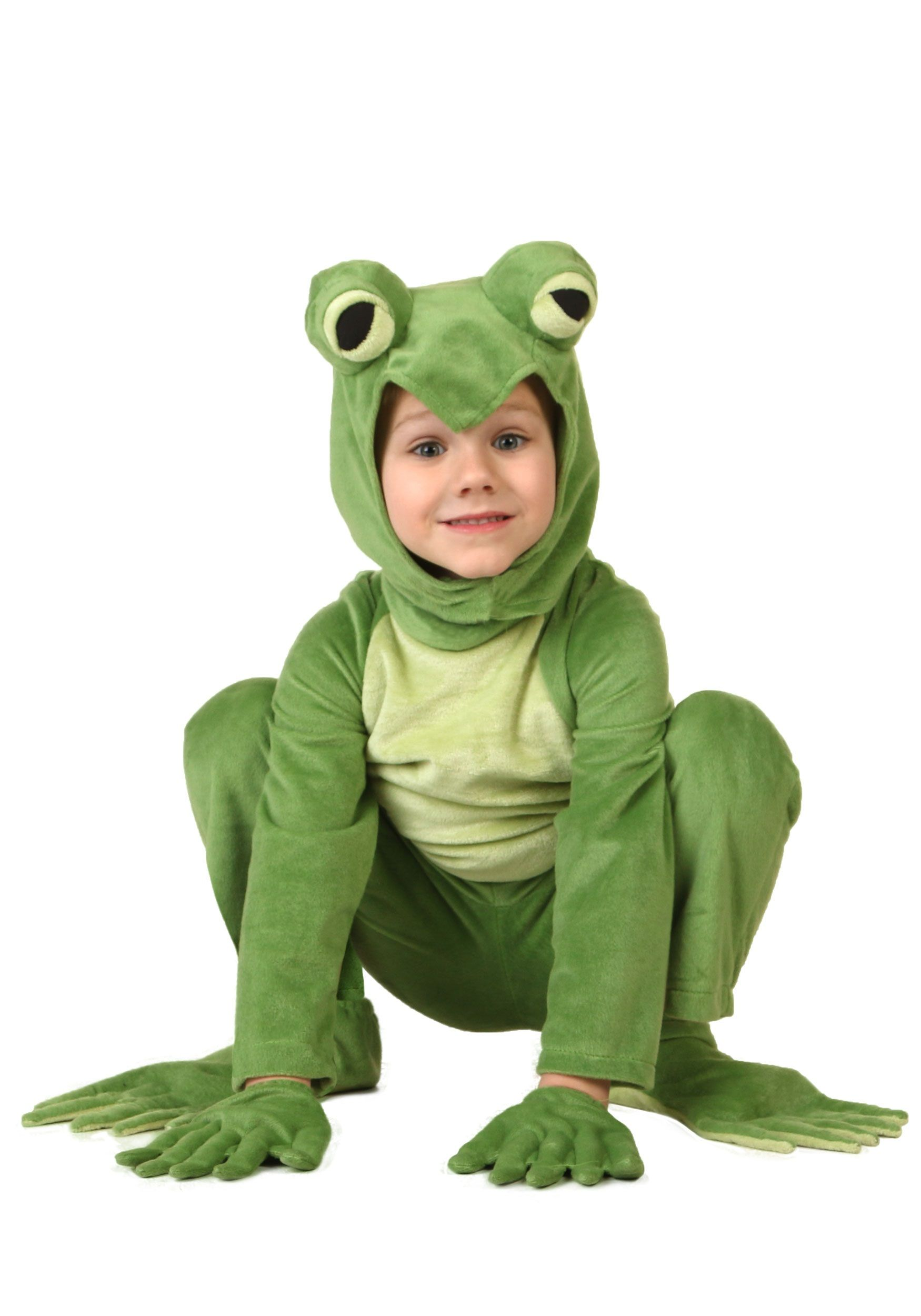 Toad Halloween Costume Toddler