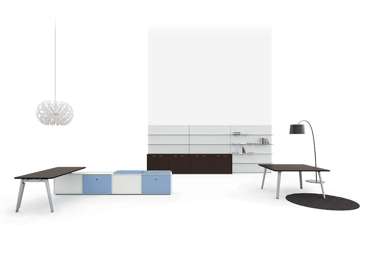Design Office Desks - DV804 - Della Valentina Office | Trafford ...