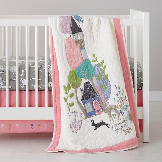 The Land Of Nod Baby Bedding Fairy Tale Themed Crib Bedding In