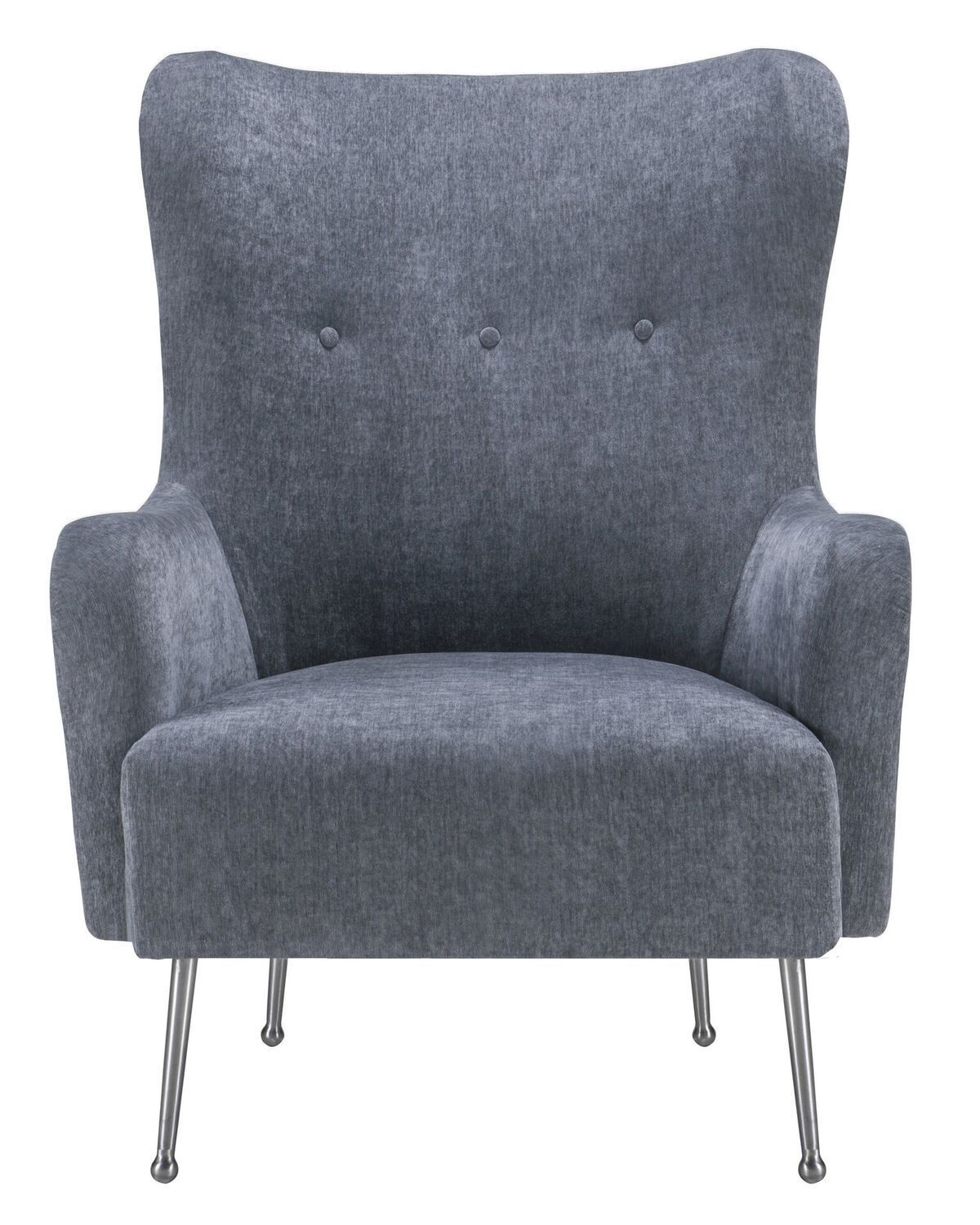 Evan Grey Velvet Chair Products Chair Chair Upholstery Grey
