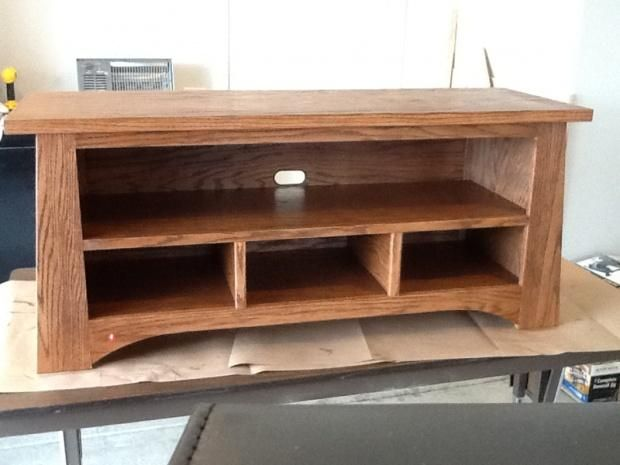 Tv Stand Designs Wooden : Tv stand plans woodworking easy diy