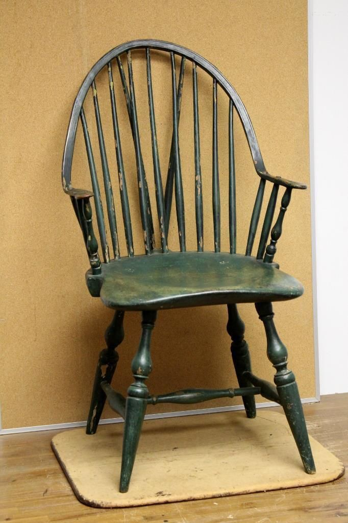 Best 18th c new york windsor continuous arm brace back for English chair design