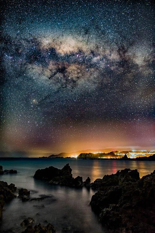 Pin By Ami Ryu09 On Aesthetic Night Landscape Photography Night Sky Photography Night Landscape