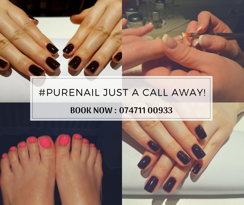 💅Pure Nails at Pure Wax London - strand. ☎ Call: 07471 100933 ...