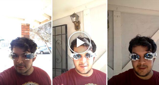 Jovem Inventa Óculos De Sol Que Deslizam Automaticamente Quando Detetam a Luz Solar http://www.funco.biz/jovem-inventa-oculos-sol-deslizam-automaticamente-detetam-luz-solar/