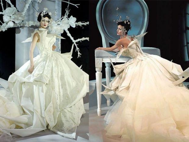 John Galliano Wedding Dress