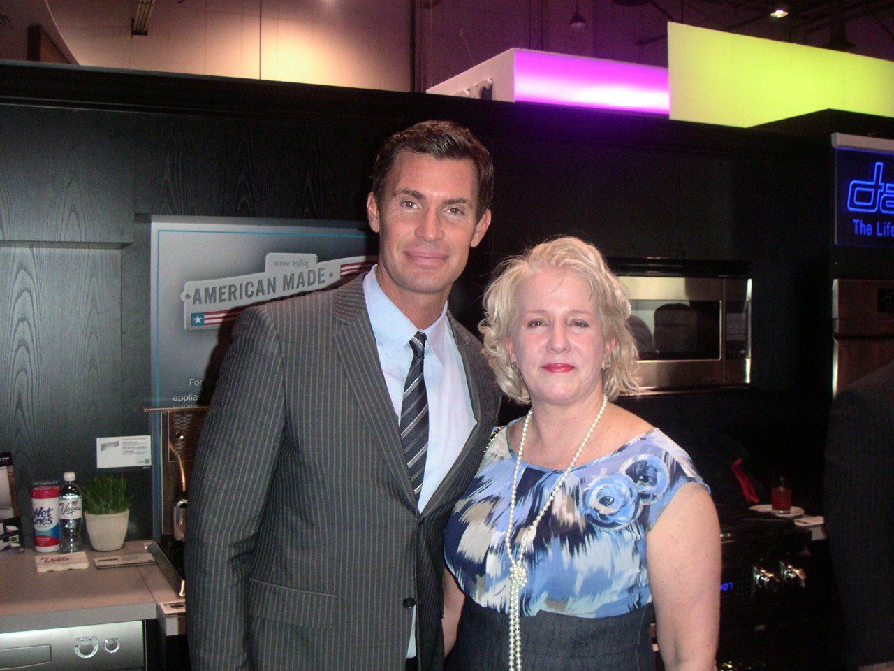Barbara Segal Of Noir Blanc Interiors With Jeff Lewis Of Jeff