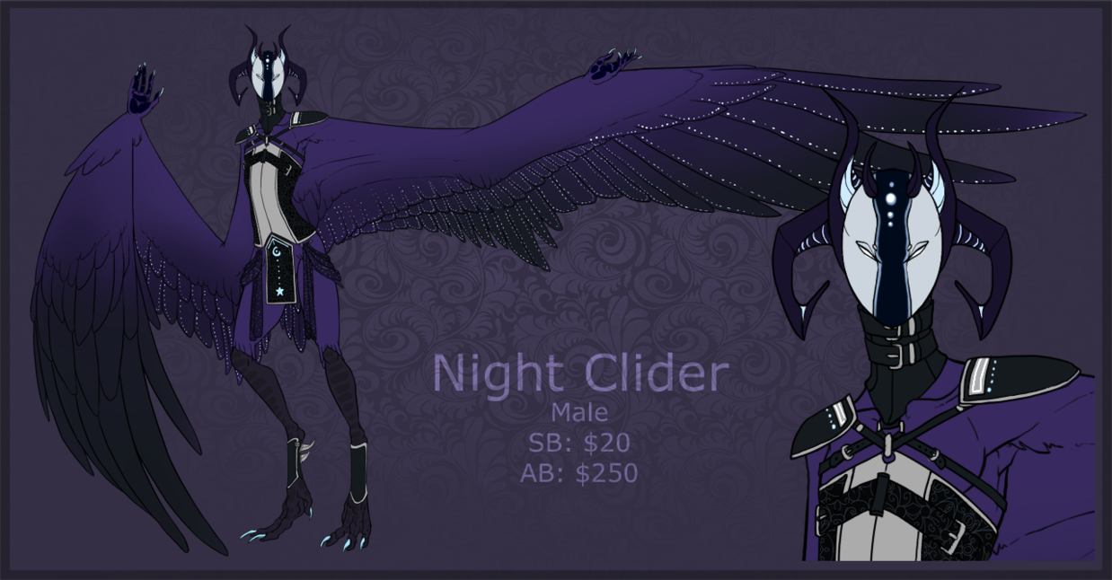 Haroth Auction: Night Clider [closed] by Aivomata