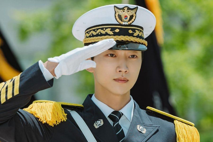 """B1A4's Jinyoung Is A Police Officer In The Making With A Surprising Past In Upcoming Drama """"Police University"""""""