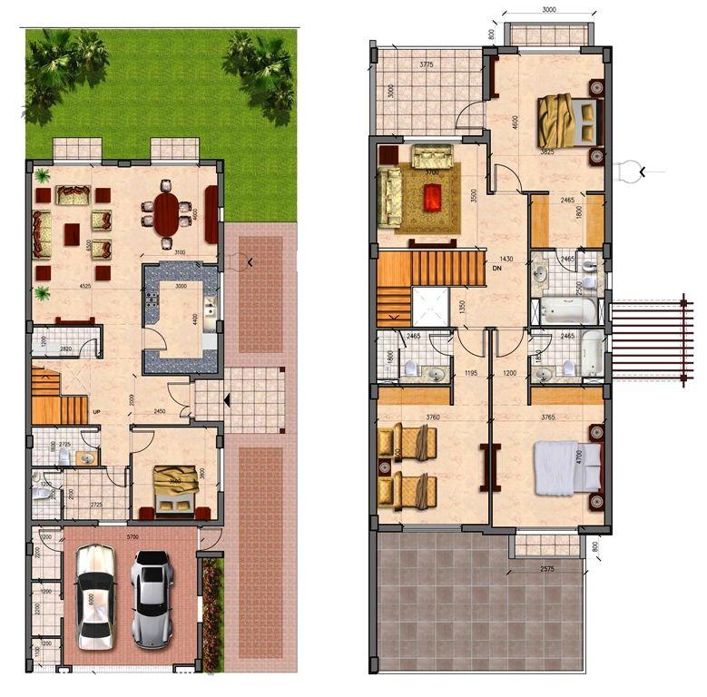Semi Detached Houses Design: Prime-Villas-Dubai-Sports-City-Semi-Detached-Floor-Plan