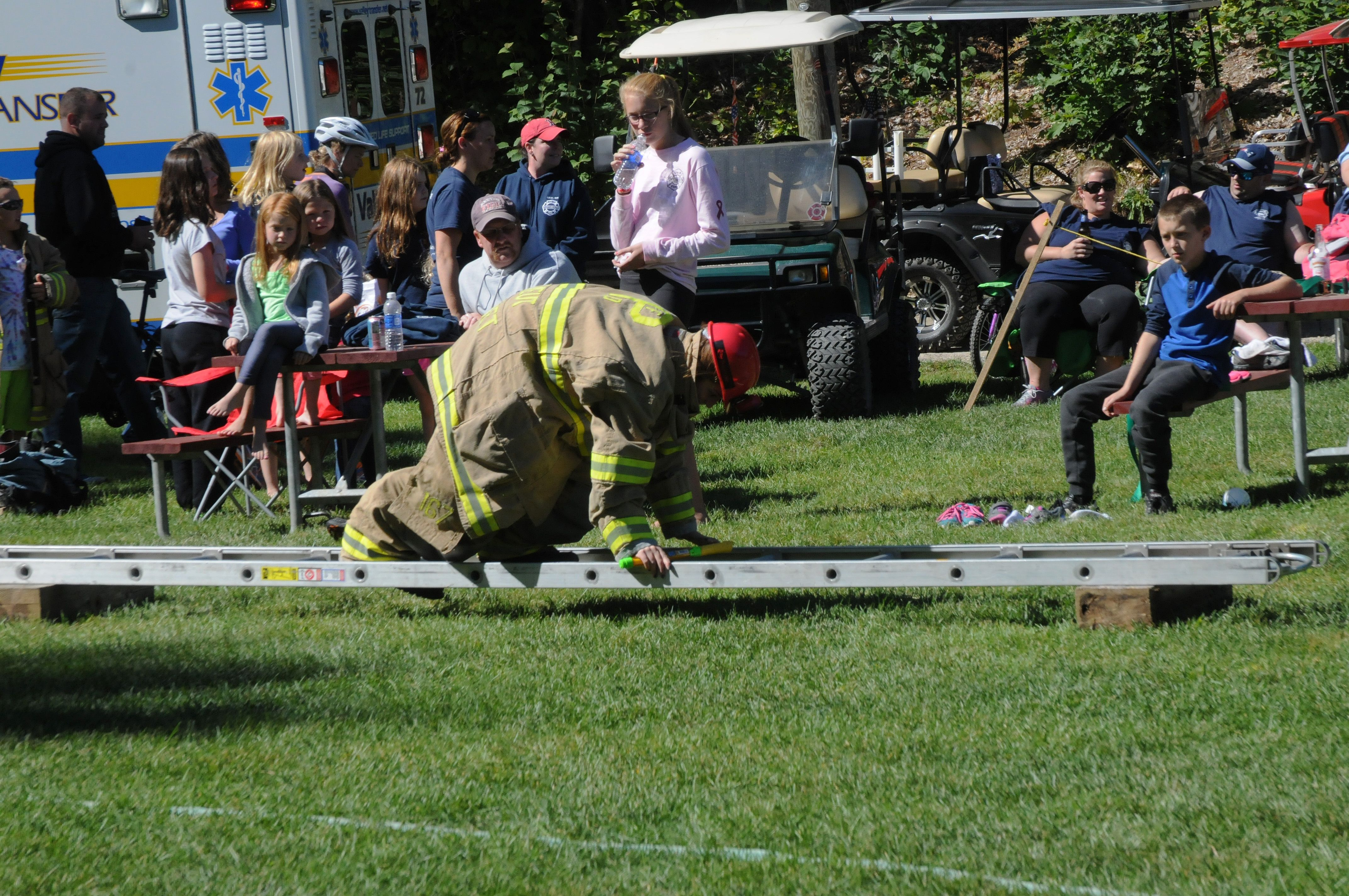 Firefighters' Appreciation Weekend at Danforth Bay is a camp favorite. Mark your calendar to join us this fall!