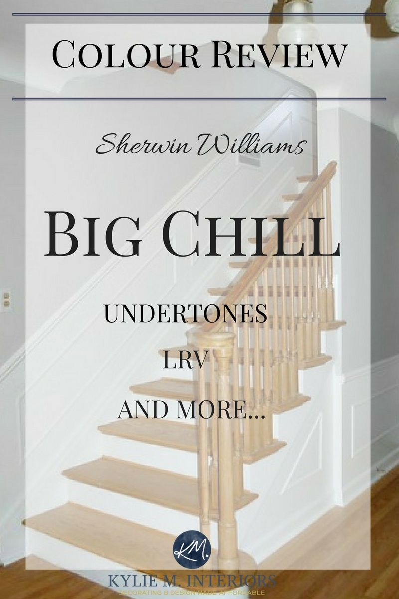 Colour Review Sherwin Williams Big Chill Is A Big Deal Big