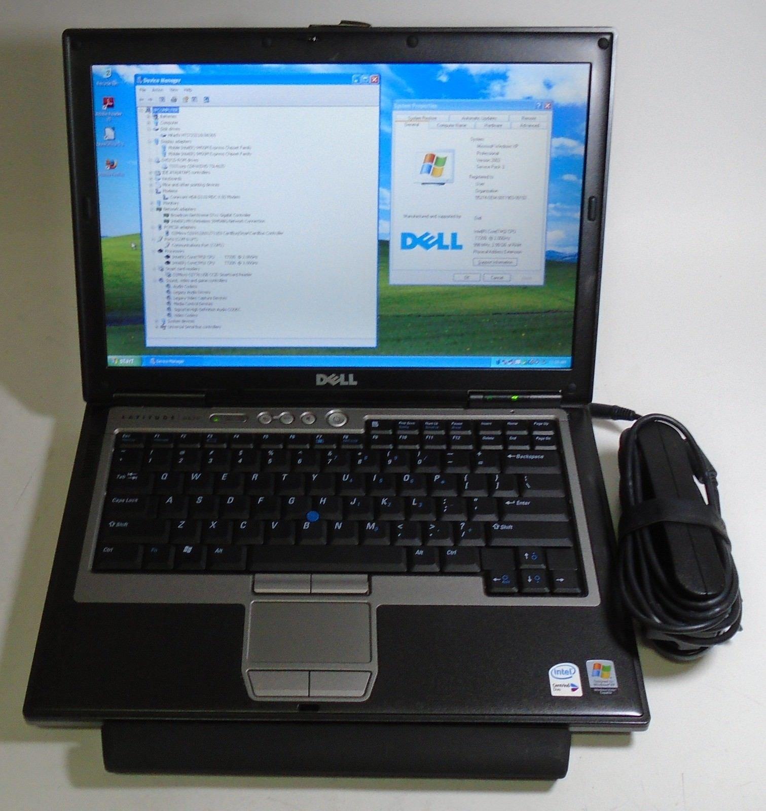Dell Latitude D620 14 1 Windows XP Pro Intel Dual Core 2 00GHz 3GB