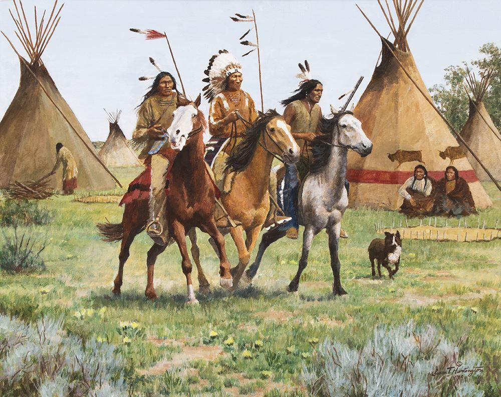 Returning Warriors by Susan Terpning kp