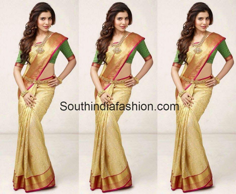 Samantha In South India Shopping Mall AdHyderabad