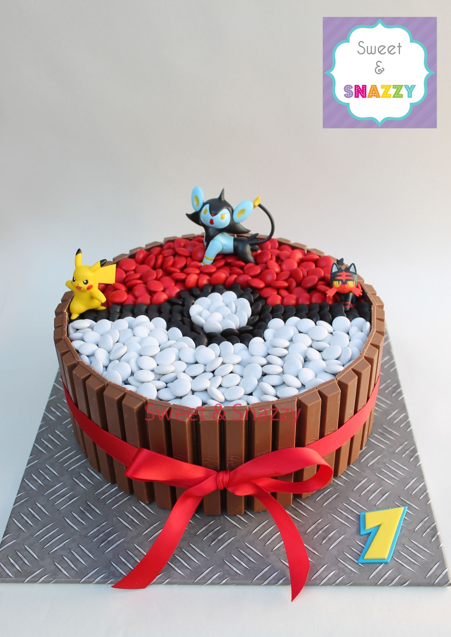 Pin by Sweet & Snazzy on Cakes in 2019   Pokemon birthday ...