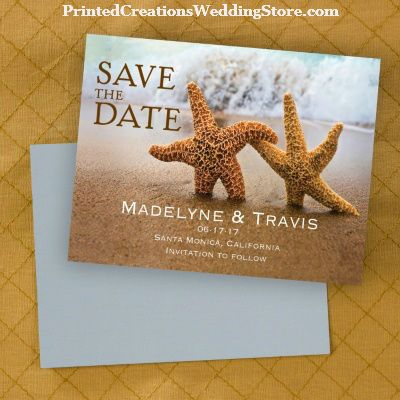 Beach Loving Save The Date Magnet Is Perfect For Announcing Your Upcoming Wedding See