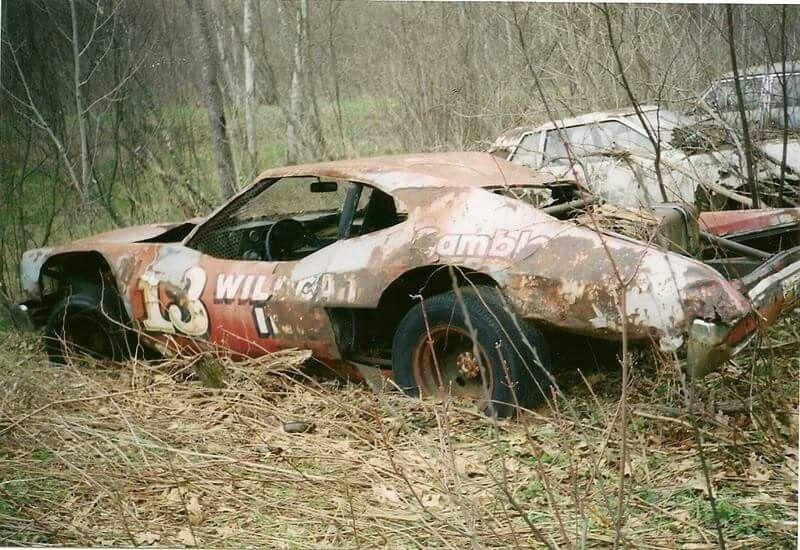 Old 13 Old Race Cars Junkyard Cars Stock Car Racing