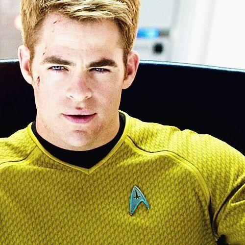 Chris Pine as Captain Kirk. Yep.