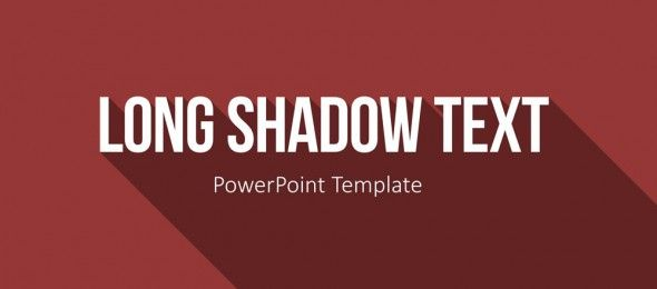 blog article about the use of he flat design templates with long, Powerpoint templates