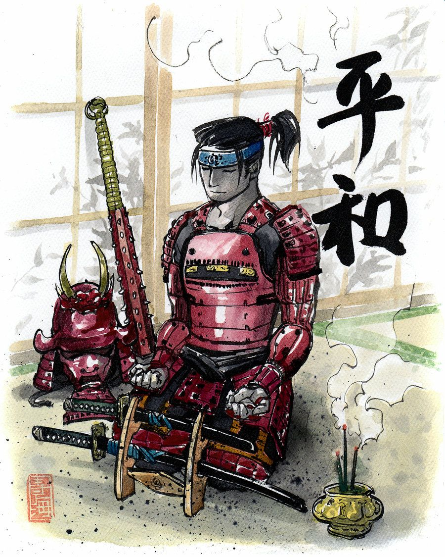 Peaceful Samurai Custom by MyCKs.deviantart.com