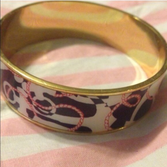 Lilly Pulitzer nautical bangle Lilly Pulitzer bangle Lilly Pulitzer Jewelry Bracelets