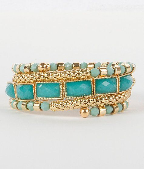'BKE Beaded Coil Bracelet' #buckle #fashion www.buckle.com