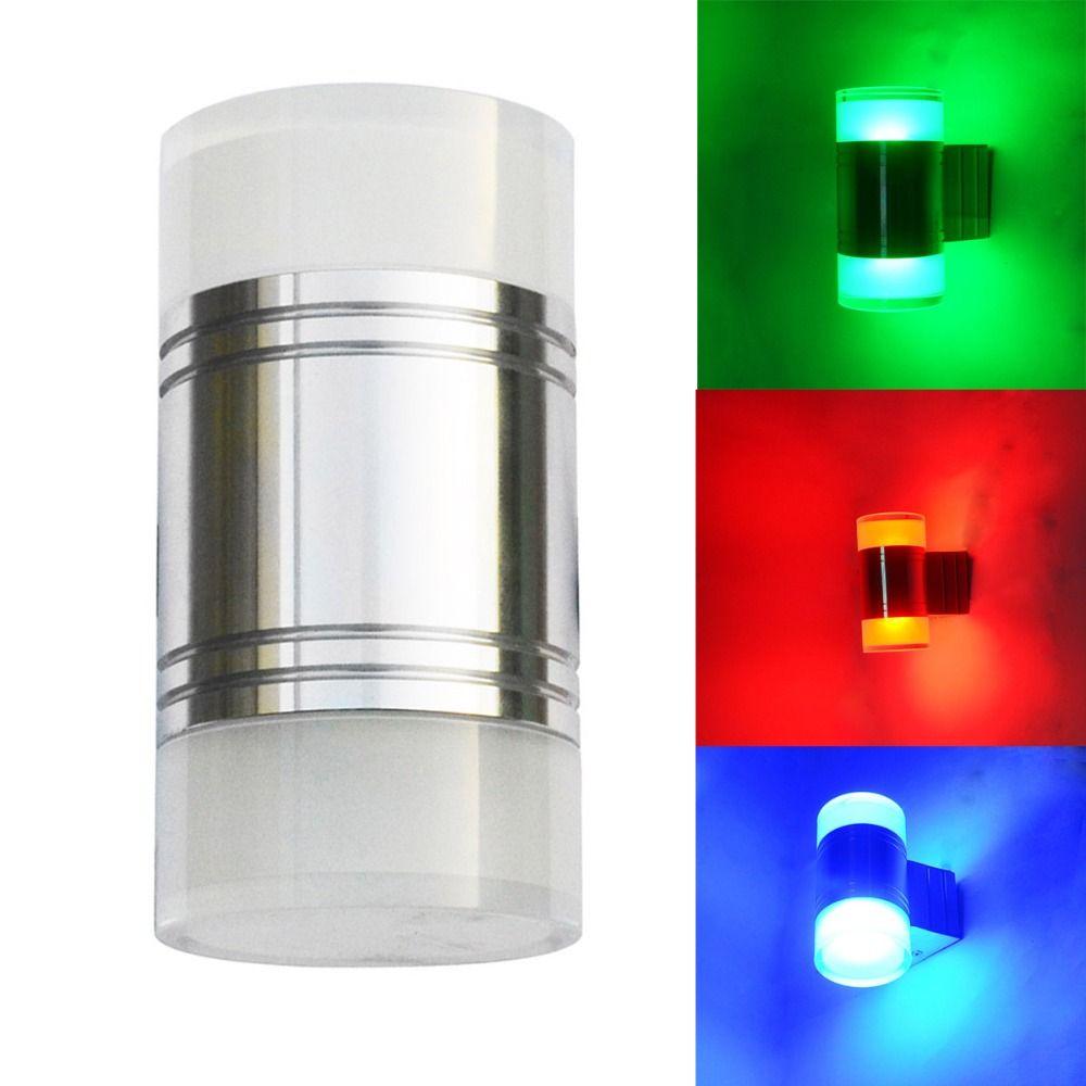 outdoor waterproof double heads led wall lamp modern minimalist led