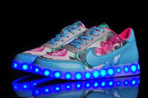 Nike Low Light Up Printing Multicolored Lighting Sole Usb Charging Shoes & Nike Low Light Up Printing Multicolored Lighting Sole Usb Charging ... azcodes.com