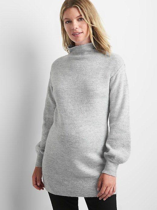 06f979deb7aa8 Gap Maternity mockneck sweater tunic | Products | Tunic sweater ...