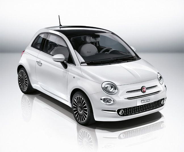 Fiat 500 Citadine Voiture Roues De Voiture Fiat 500