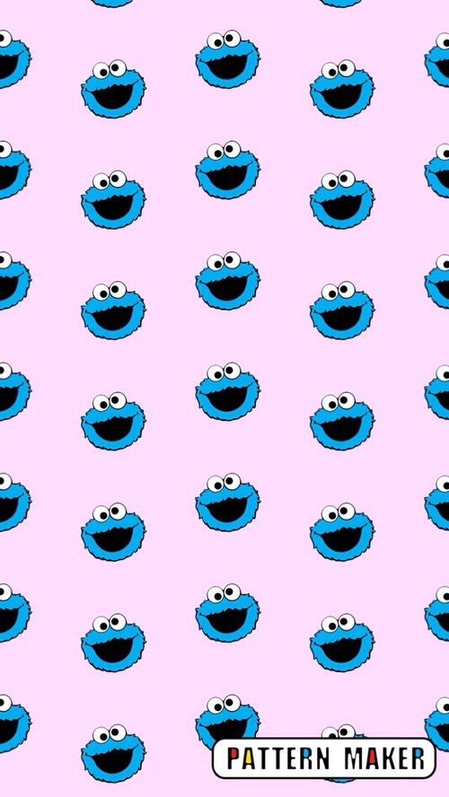Cookie Monster Background Cookie Monster Wallpaper Monster Cookies Iphone 6 Wallpaper