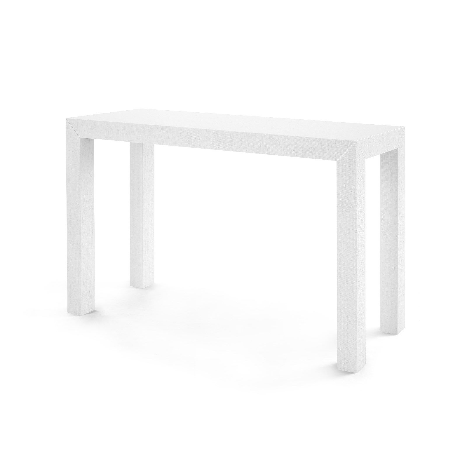 Admirable Parsons Console Table White Bungalow 5 Dutton Mills Download Free Architecture Designs Lukepmadebymaigaardcom