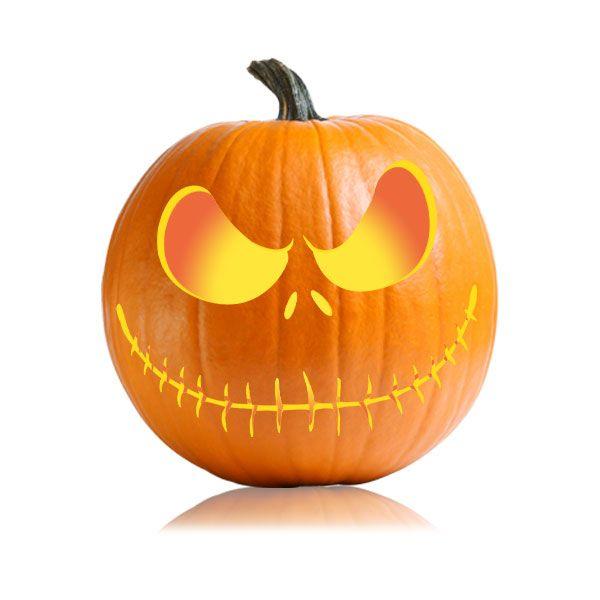 Jack Skellington Pumpkin Carving Pattern   Jack ...